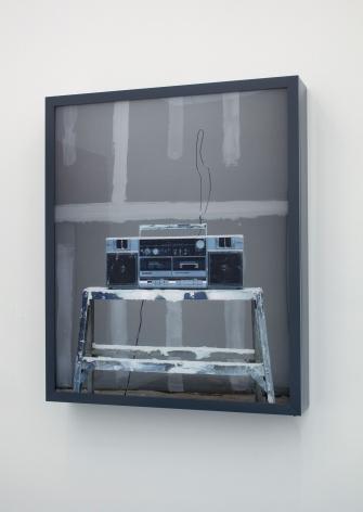 Rodney Graham, Drywaller's Boombox, 2013