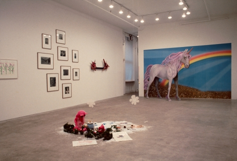 Installation view:, Group Exhibition:David Cabrera, Anne Doran, Andreas Gursky, Larry Johnson, Karen Kilimnik, Liz Larner, Pruitt • Early, Thomas Ruff, Collier Schorr, Karen Sylvester