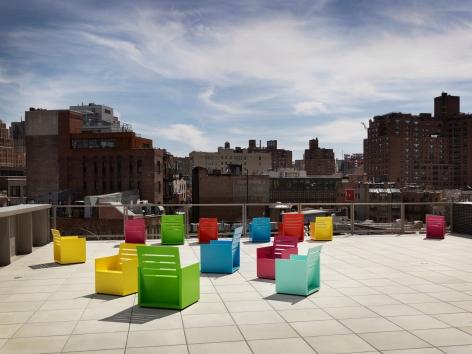 Mary Heilmann - Sunset - Whitney Museum of American Art, 2015