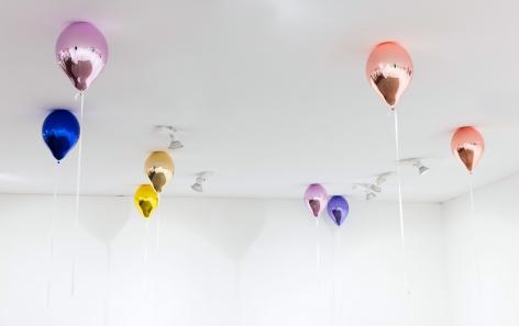 Jeppe Hein, Installation view: FIAC, 2017