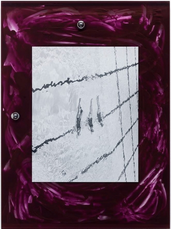 Elad Lassry, Untitled (Swimmers, Purple), 2015
