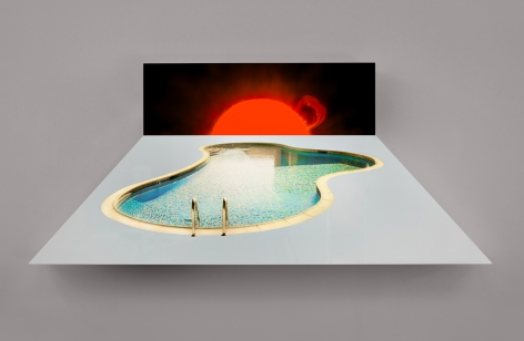 Doug Aitken, SUN POOL, 2014