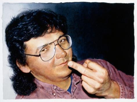 Tim Gardner, Untitled (Gordon Giving Finger), 2002