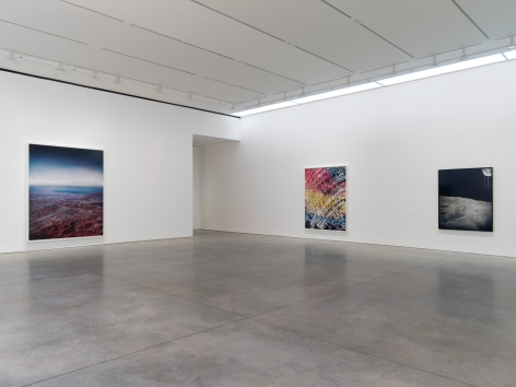 Florian Maier-Aichen, Installation at 303 Gallery, 2014