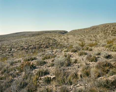 Stephen Shore, Brewster County, Texas, 1987