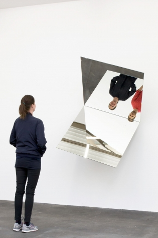 Jeppe Hein, 360 degree Illusion I, 2007