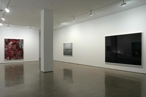 Florian Maier-Aichen, Installation view: 303 Gallery, New York, 2006