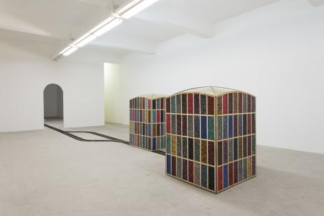 Marina Pinsky, Installation view: Gluck50, Milan, 2018