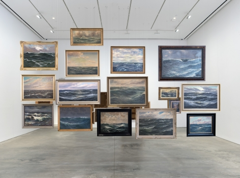 Hans-Peter Feldmann, Sea Paintings