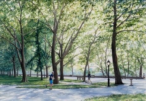Tim Gardner, Riverside Park, 2018