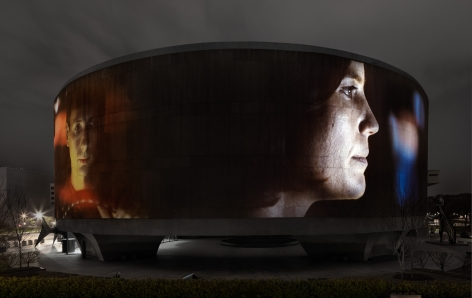 Doug Aitken, SONG 1, 2012, Hirshhorn Museum and Sculpture Garden, Smithsonian Institution