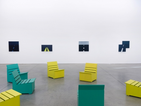 Mary Heilmann at 303 Gallery, 2015
