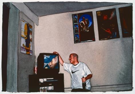 Tim Gardner, Untitled (S at his place), 1999