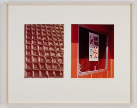 Dan Graham, Glass Office Building / Window Highway Restaurant, 1978/1969