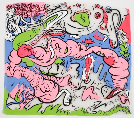 Sue Williams, Spleen and Such, 2008