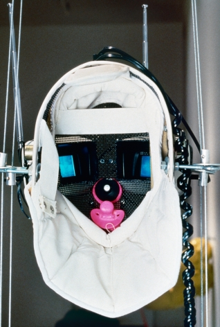 Vito Acconci, Virtual Pleasure Mask, 1993
