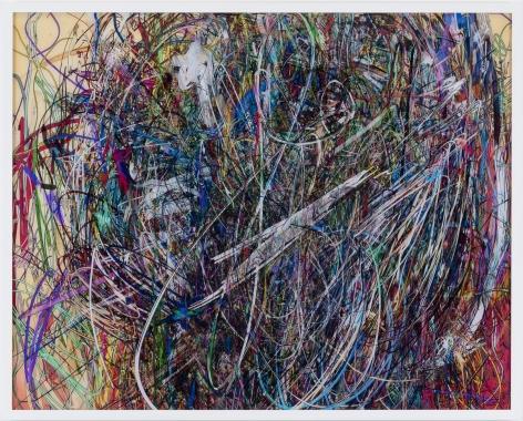 Florian Maier-Aichen, Untitled (Lasso Painting #5), 2017
