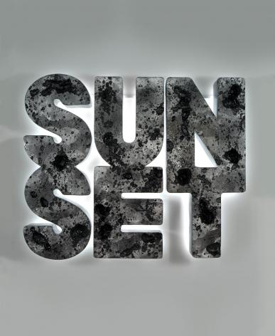 Doug Aitken, Sunset (black), 2013