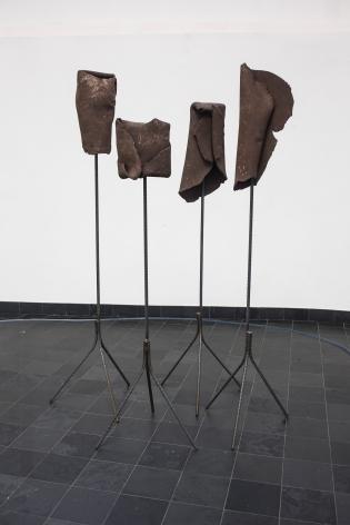 Installation view: Katinka Bock, Nebenwege, Kiosk, Gent, 2014