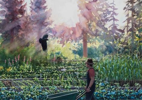 Tim Gardner, In the Garden
