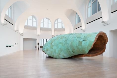 Installation view: Katinka Bock, Rauschen, Kestner Gesellschaft, Hanover, Germany March 6 - May 17, 2020