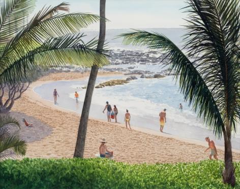 Tim Gardner, Maui Beach Scene
