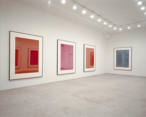 Larry Johnson, Installation view: 303 Gallery, New York, 1990
