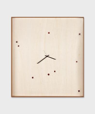 Valentin Carron, Nine Drops Of Blood, 2019