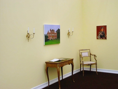 Karen Kilimnik, Installation view: Frieze London, 303 Gallery Booth, 2003