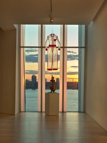 installation view of Transmissions, Whitney Museum of American Art, New York, photo: Ron Amstutz