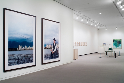 Rodney Graham, A Little Thought: Installation view: Vancouver Art Gallery, 2005