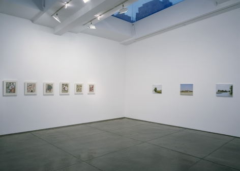 Installation view Passport To Painting