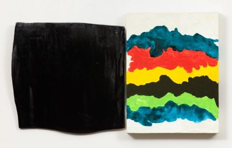 Mary Heilmann, Shadow and Splash