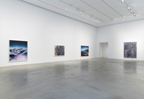 Installation view: Florian Maier-Aichen, 303 Gallery, New York, 2017