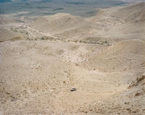 Stephen Shore, Large Crater, Negev Desert, Israel, September 29, 2009