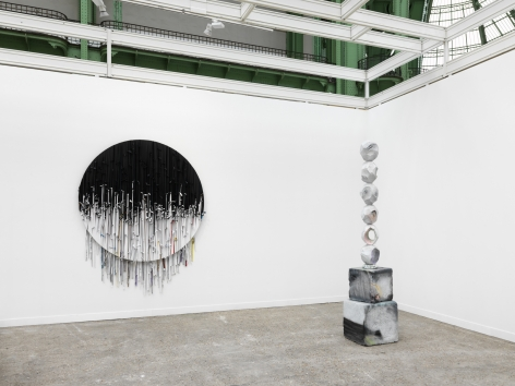 Eva Rothschild, Installation view: FIAC, 2019