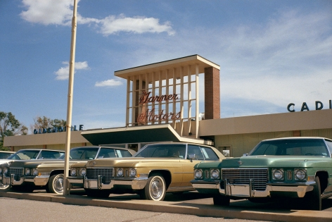 Stephen Shore, Amarillo, Texas, July, 1972