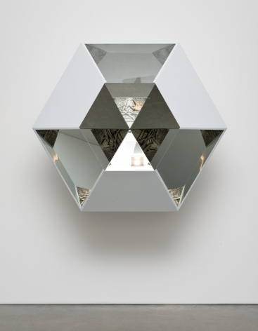 Doug Aitken, Glass Horizon (hexagon), 2014