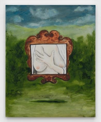 Tanya Merrill, Georgia Okeeffe's breasts in a frame made for Jesus, descending Toledo