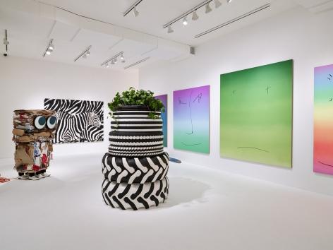 Installation view: Rob Pruitt: An American Folk Artist, Aspen Art Museum, 2013