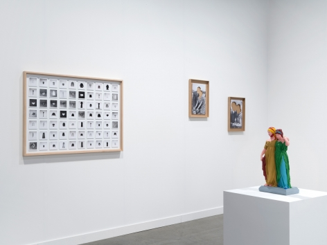 Hans-Peter Feldmann, Installation view, Independent, New York, 2018.