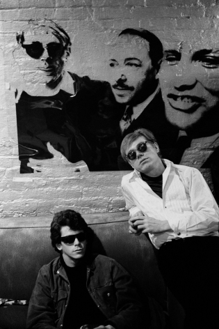 Stephen Shore, Lou Reed, Andy Warhol, 1965-1967
