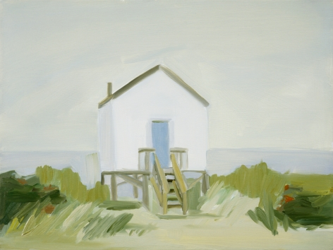Maureen Gallace, Beach House (with porch) Falmouth, Ma., 2002