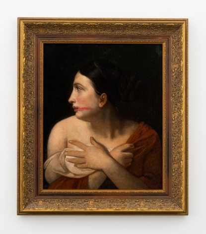 Hans-Peter Feldmann, Woman with lipstick