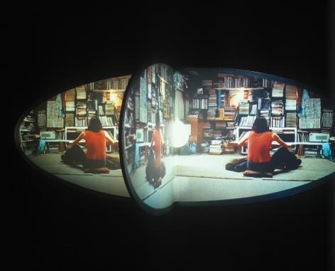 Doug Aitken, new skin, 2002, Installation view: 303 Gallery, 2002