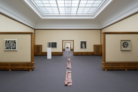 Installation view: Katinka Bock - Sonar / Tomorrow's Sculpture