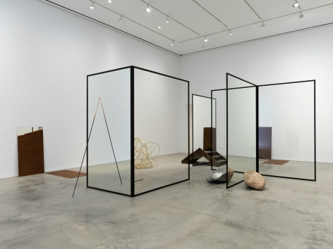 Alicja Kwade, Installation view: I Rise Again, Changed But The Same, 303 Gallery, 2016