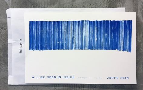 Jeppe Hein, All We Need Is Inside, 2015