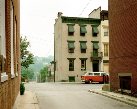 Stephen Shore, Church and Second Streets, Easton, Pennsylvania, June 20, 1974