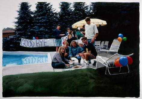 Tim Gardner, Untitled (Going away party), 1999